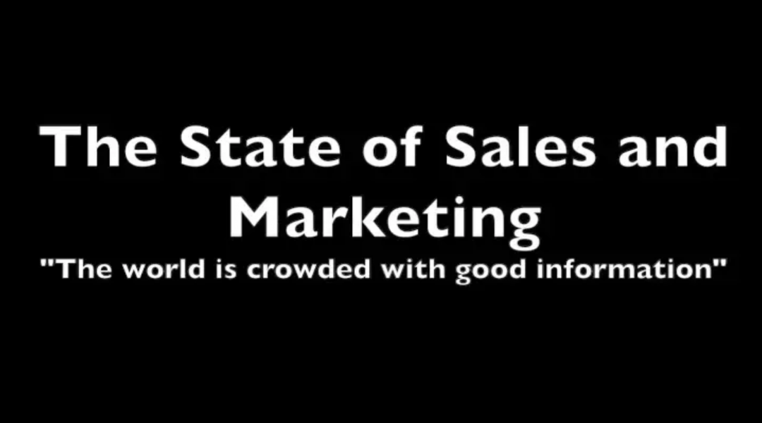 The State of Sales and Marketing with CEO, Scott Gillum, and Special Guest, Brent Adamson