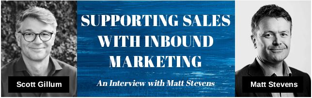 Supporting Sales with Inbound Marketing