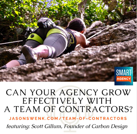 Can your agency grow effectively with a team of contractors?