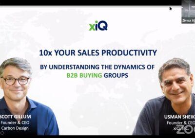 10x YOUR SALES PRODUCTIVITY Webinar